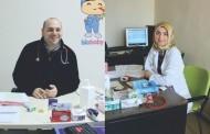Saray'a İki Çocuk Doktoru Birden Geldi