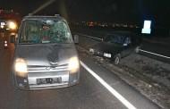 Kapaklı'da Kaza; Karşıya Geçmeye Çalışırken Başka Araç Çarptı