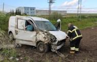 Saray´da Trafik Kazası; 3 Yaralı