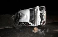 Saray´da Otomobil Takla Attı: 1 Yaralı