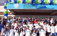 Gazi Mustafa Kemal Atatürk Spor Lisesi Törenle Devredildi