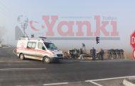 Saray'da Trafik Faciasından Dönüldü