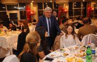 Başkan Mandalı'dan Öğretmenlere Akşam Yemeği