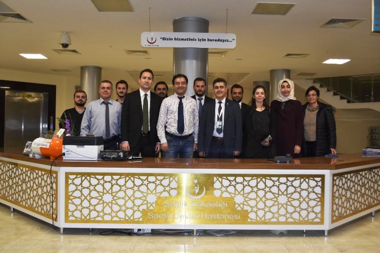 Saray Devlet Hastanesi Başarıya İmza Attı