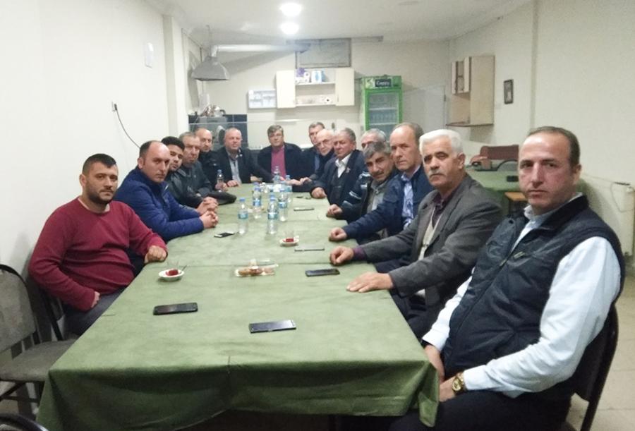 İYİ Parti Saray İlçe Teşkilatı ilk toplantısını gerçekleştirdi