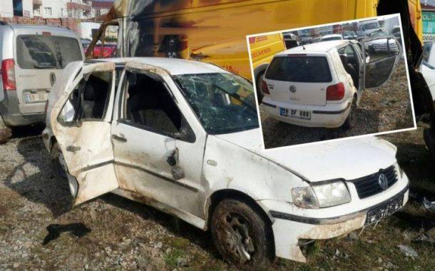 Takla Atan Otomobilin Altında Kaldı, Ağır Yaralandı