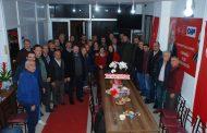 Kapaklı Ordulular Derneğinden Kapaklı CHP'ye Ziyaret