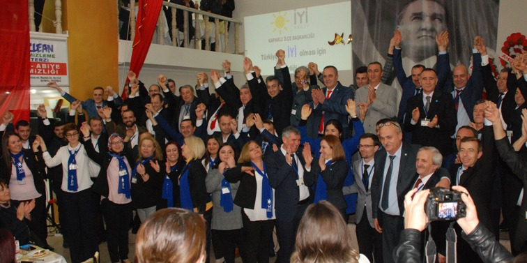 İYİ Parti Kapaklı Kurucu Yönetimini Tanıttı