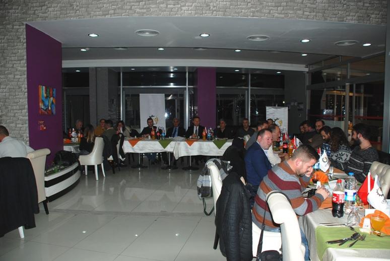 ÇTSO Basın Mensuplarıyla Yemekte Buluştu