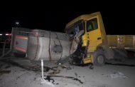 Traktör faciaya yol açıyordu: 3 Yaralı