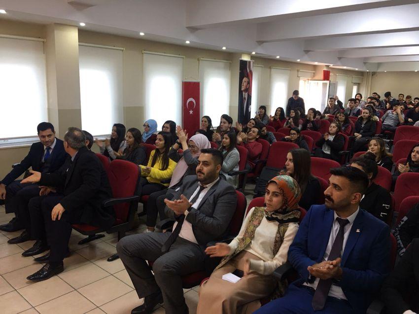 """TÜGVA'dan Öğrencilere """"Mesleki Tanıtım Semineri"""""""