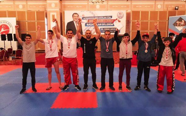 Değirmenci Spor Kulübünden Türkiye Başarısı