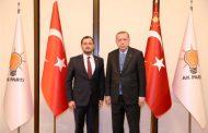 """Ak Parti Tekirdağ, """"Yüksel ile devam"""" dedi"""