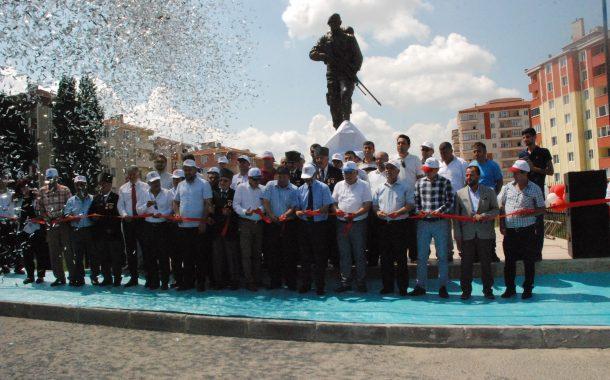 Ömer Halis Demir Heykeli Törenle Açıldı